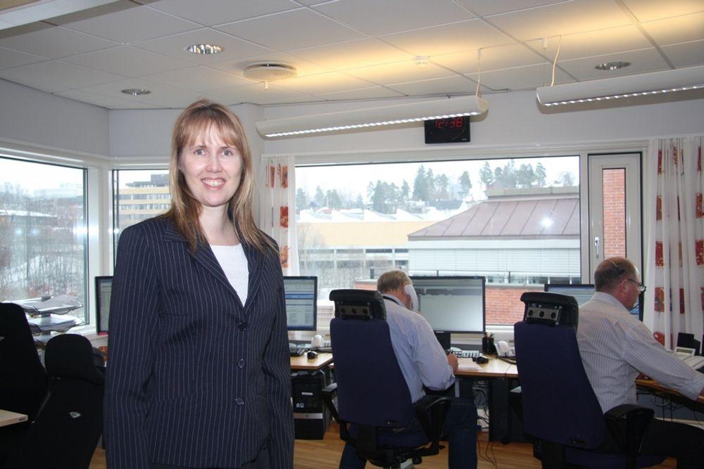 TRANSPARENT: Kommunikasjonsdirektør Siw Hauge er ikke enig i kritikken. - Nord Pool Spot er den mest transparente børsen i Europa, mener hun.