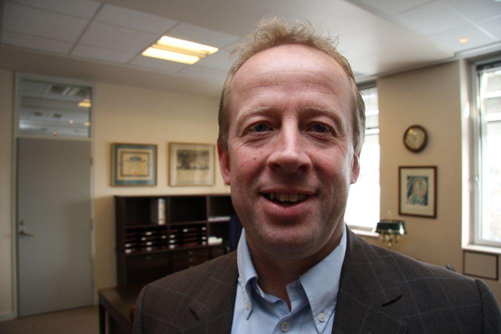 SJEF: Steffen Waal har jobbet i ABB i snart en generasjon. Nå har han rykket opp som landsjef i Norge.