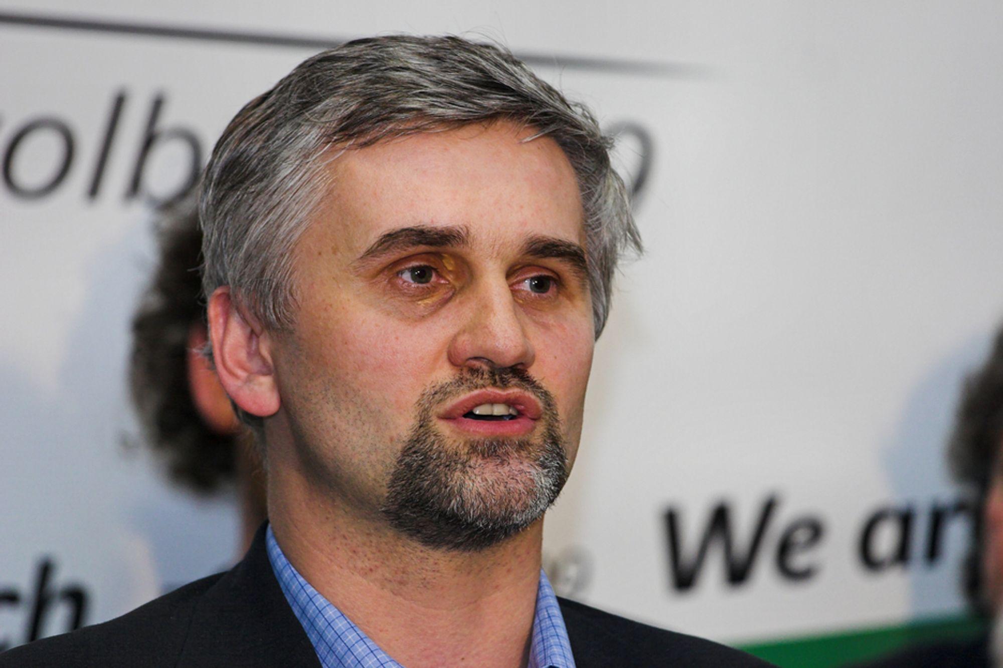 NOK ER NOK: Jan Dusik går av som miljøvernminister i Tsjekkia etter en tvist med statsministeren om rensing av kullkraftverk.