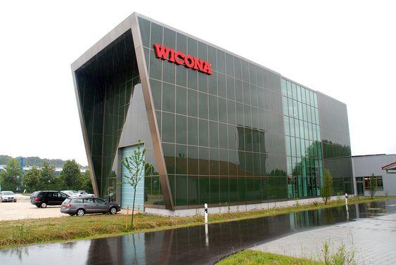 Wicona Bellenberg Tyskland Hydro Building Systems Hydro byggsystemer