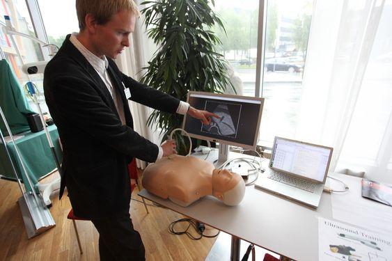 SINTEF-forsker Reidar Brekken simulering simulatordukke