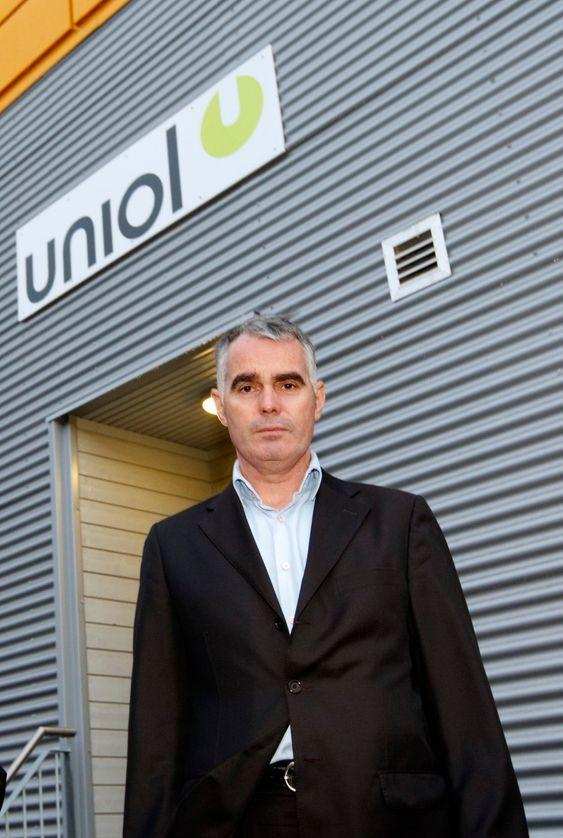 HAR TROEN: Daglig leder Thore Eilertsen ved Uniol sier at en beslutning om ny produksjon ved Uniol kan komme raskt, men at de ikke har noen garantier.