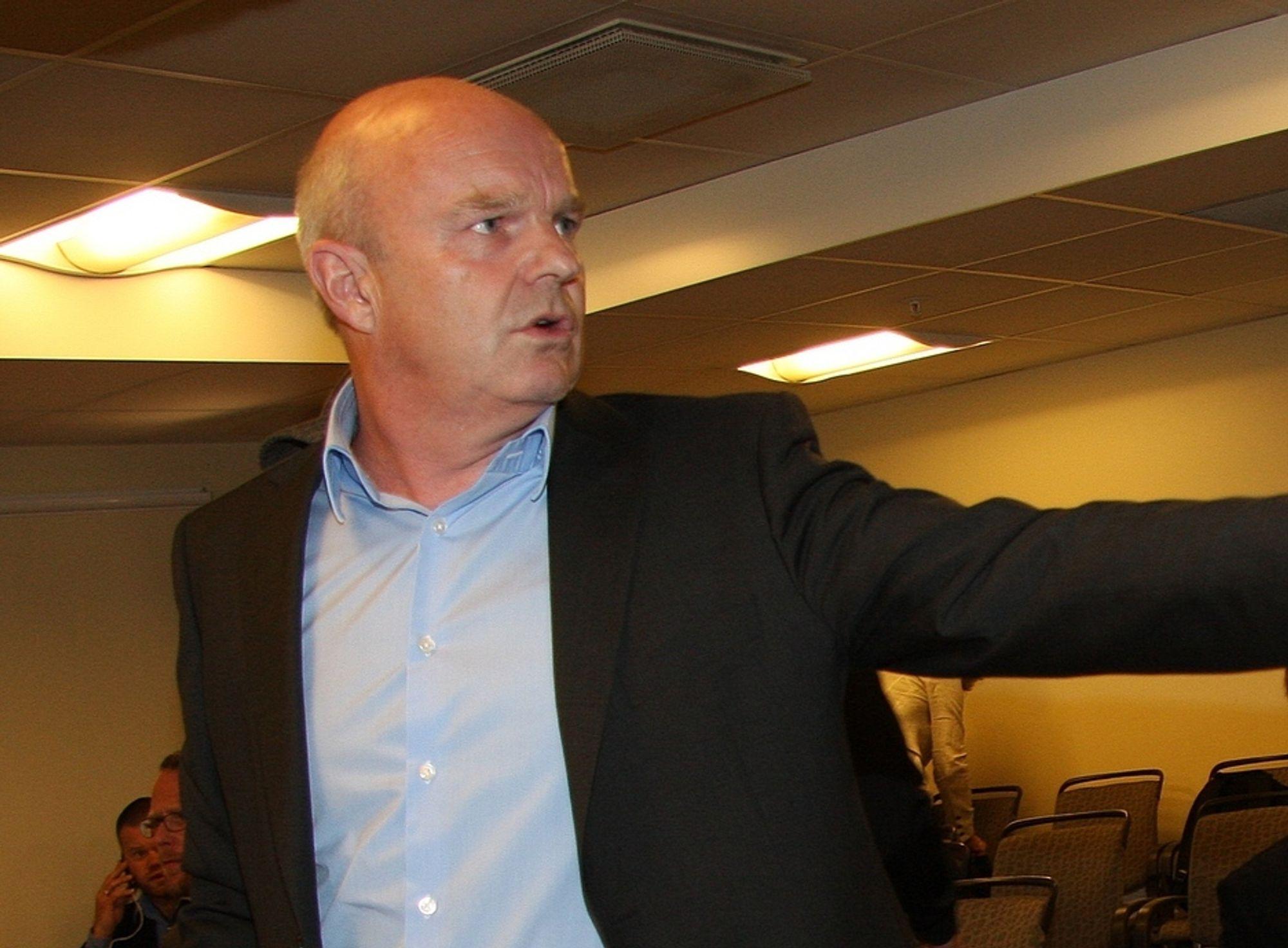 FLEST: EDB og John-Arne Haugerud tar flest lederposisjoner i det nye selskapet.