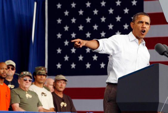 President Barack Obama vil ruste opp infrastrukturen i USA, og håper det vil skape sårt tiltrengte arbeidsplasser.