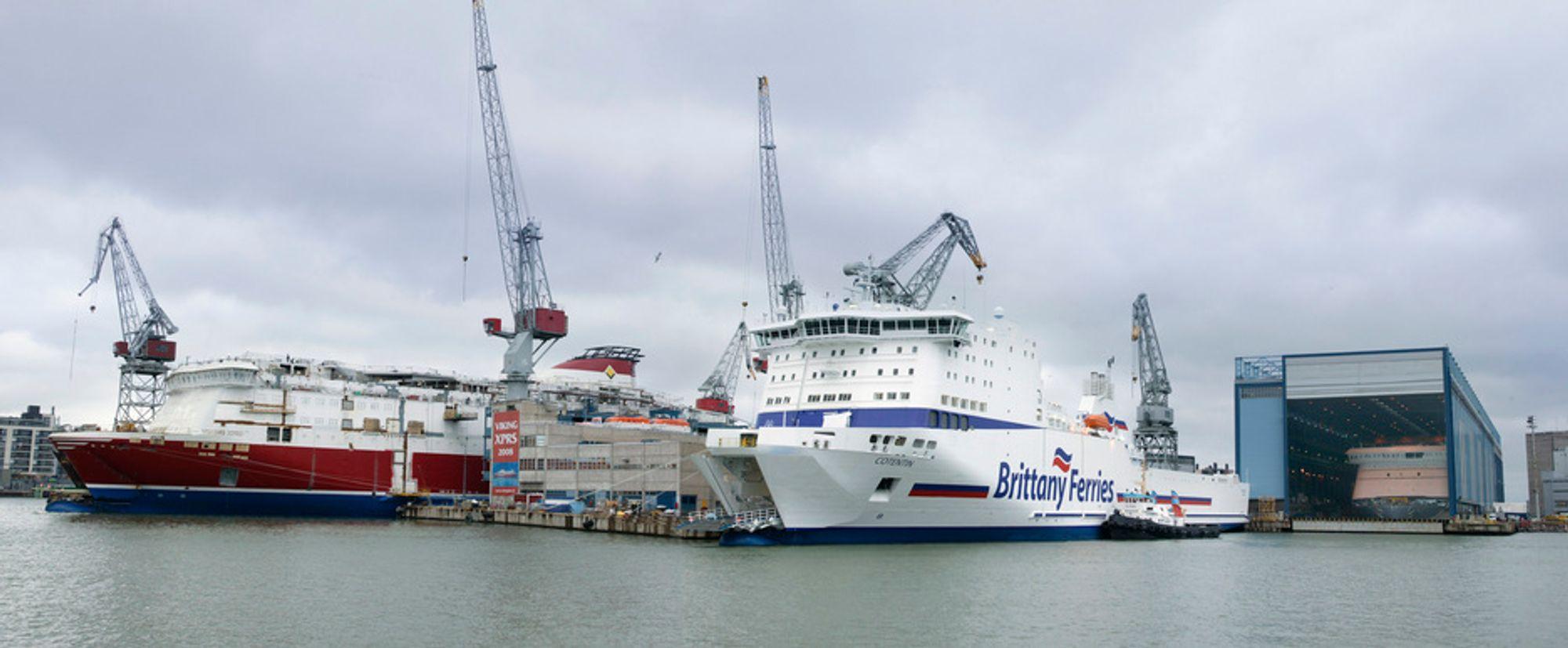 SKIFTER FOKUS: Verftet i Helsingfors overføres fra STX Finland til det nye finsk-russiske selskapet Arctech Helsinki Shipyard Oy. Verftet skal bygge isbrytere og isforsterkede skip for akrtiske strøk.