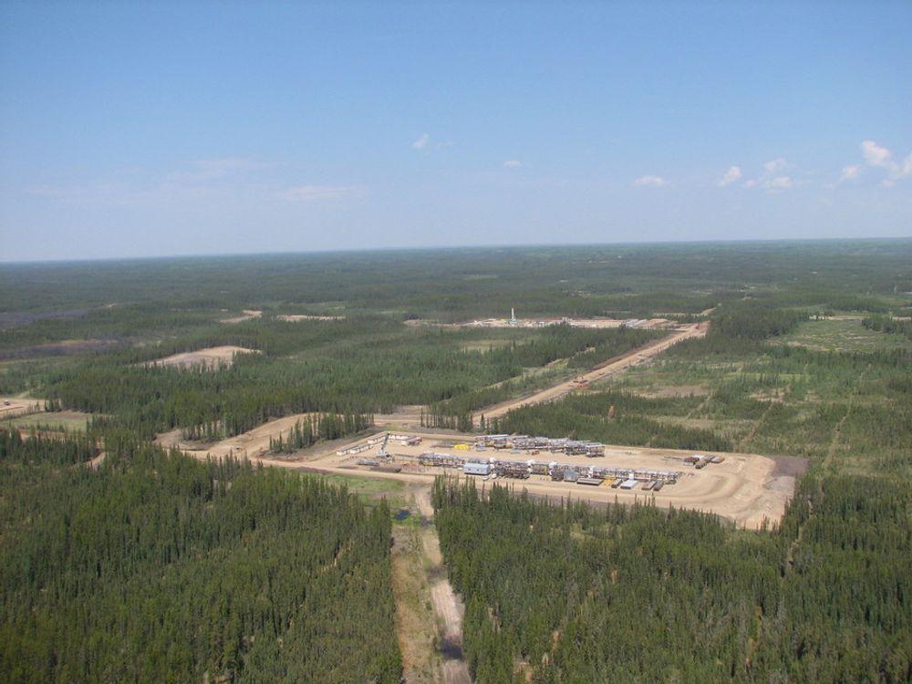 LEISMER: Det første arealet hvor Statoil skal utvinne tungolje. Produksjonsstart i løpet av 2010, med kapsitet til å produsere ca. 10 000 fat per dag.