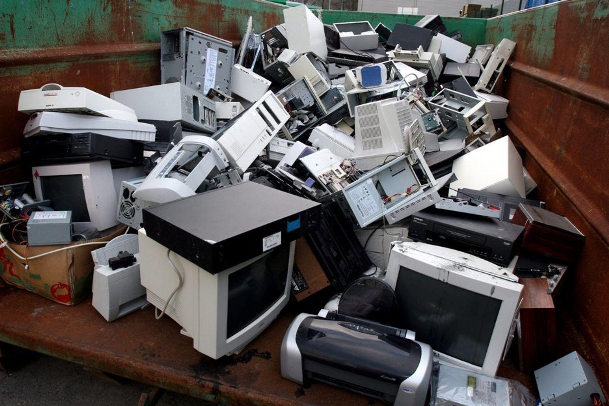 Ulovlig avfall gir hodepine