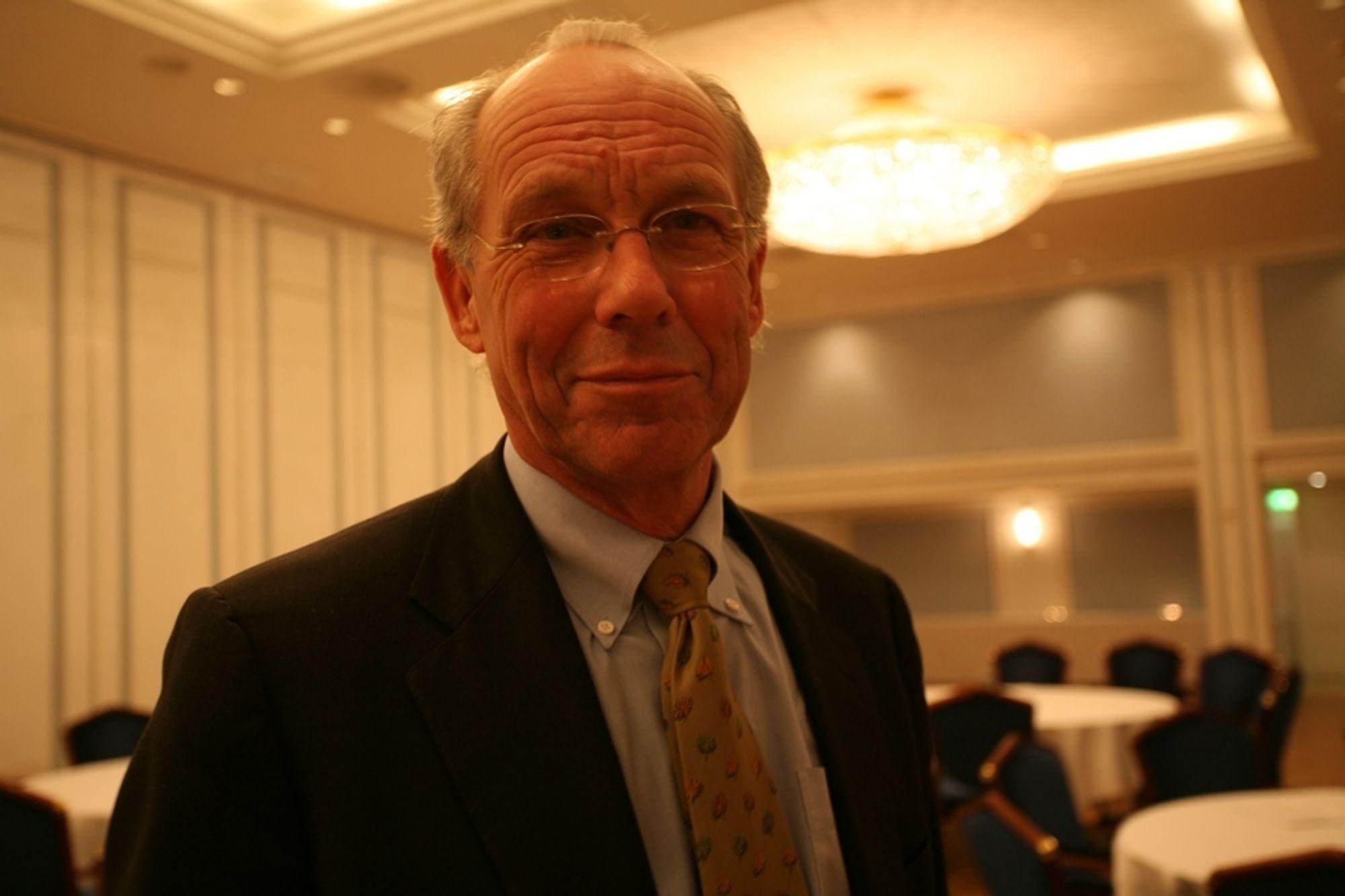 BI-professor Jørgen Randers BI Lavutslippsutvalget