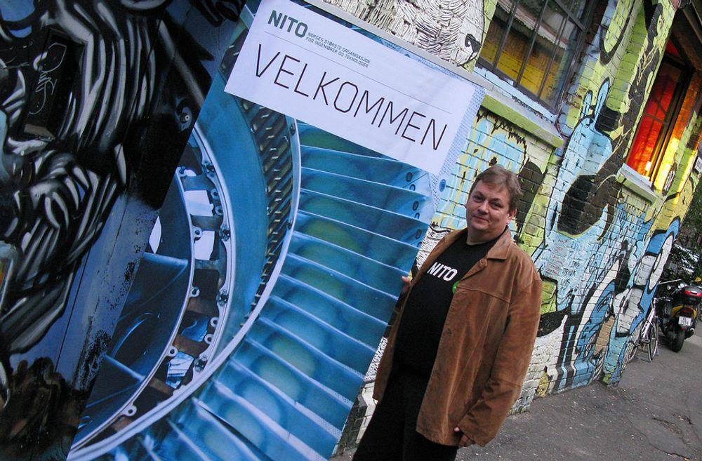 Visepresident Trond Markussen i NITO