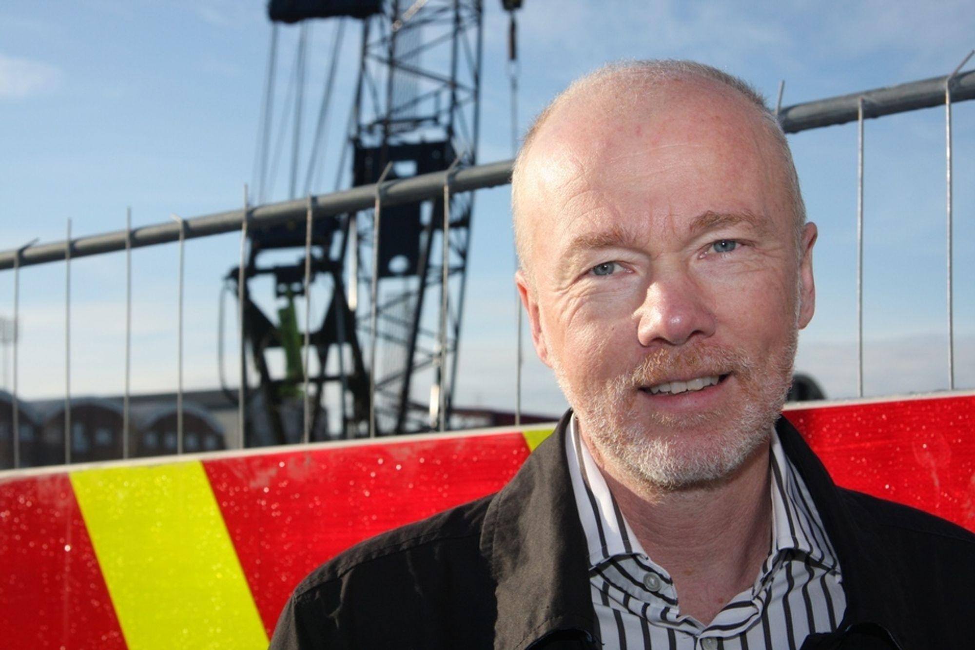 HÅPLØST: Eilert Henriksen, leder virksomhetsområdet nett i Fredrikstad Energi AS, synes det er håpløst at NVE blander seg inn i organiseringen av selskapet.