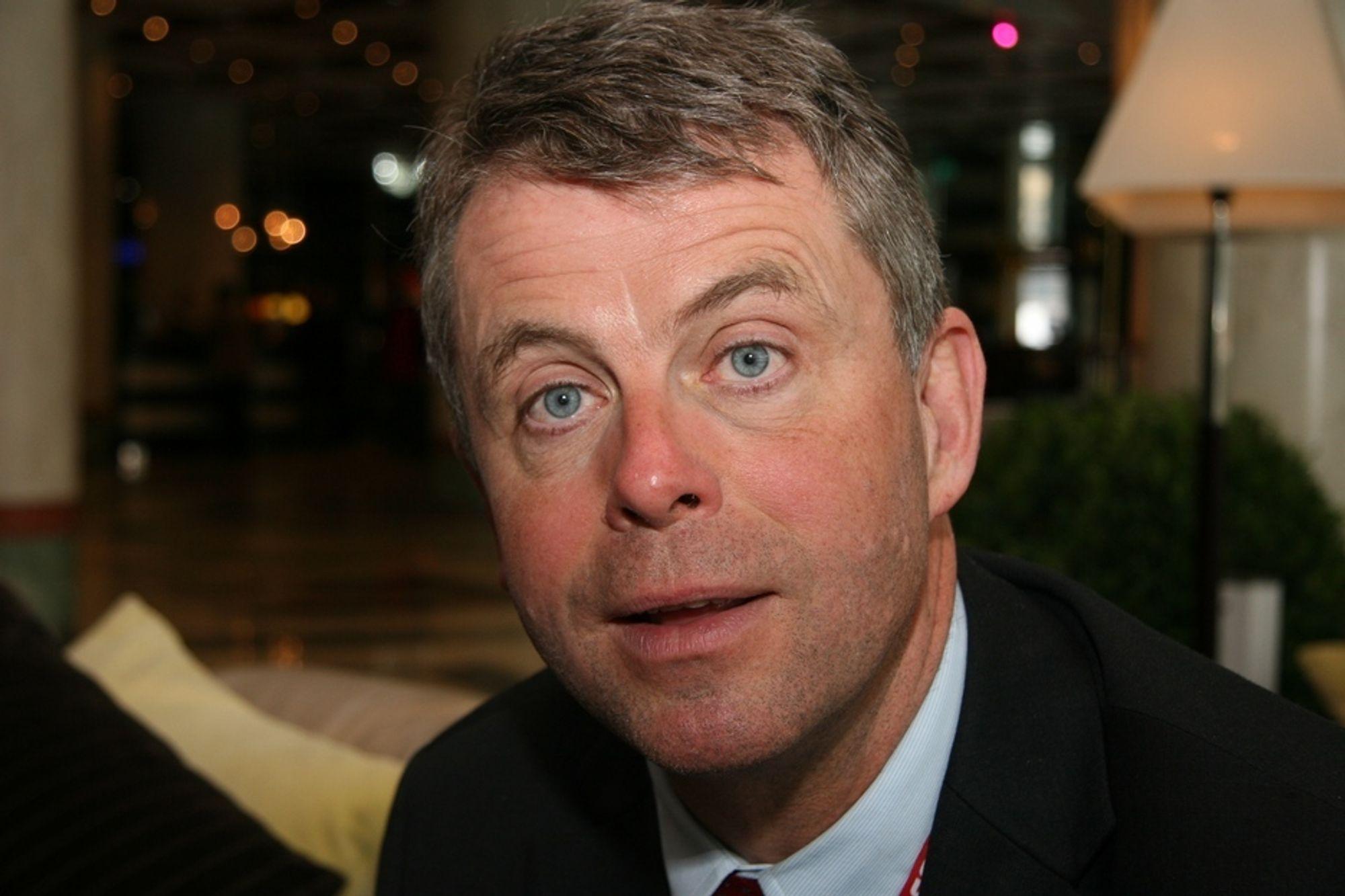 KOMMUNENES PREMISSER: - Et kommunalt Statsbygg må bygges på kommunenes premisser, sier Petter Eiken, administrerende direktør i Skanska.
