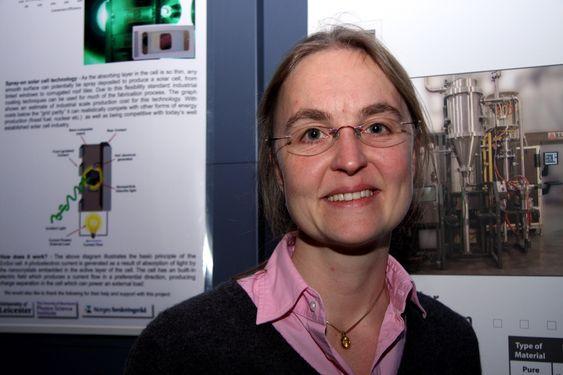 Bodil Holst, professor ved Universitetet i Bergen og medstifter av solcelleselskapet Ensol
