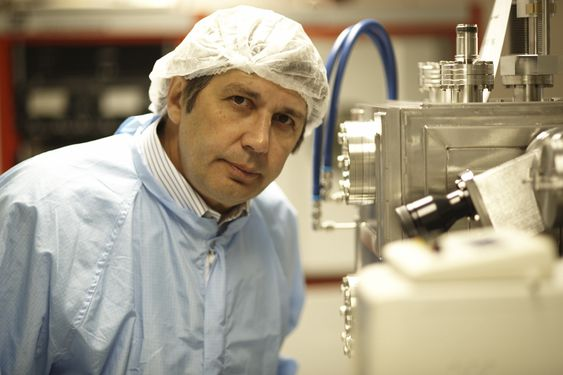 Andre Geim, nobelprisvinner i fysikk for 2010.