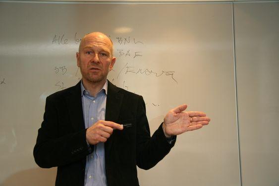 Egil Skavang, leder Byggekostnadsprogrammet