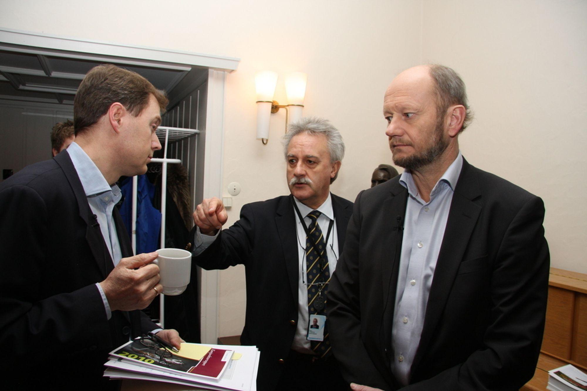 Knut Sunde, Finn Langeland, Stein Lier-Hansen