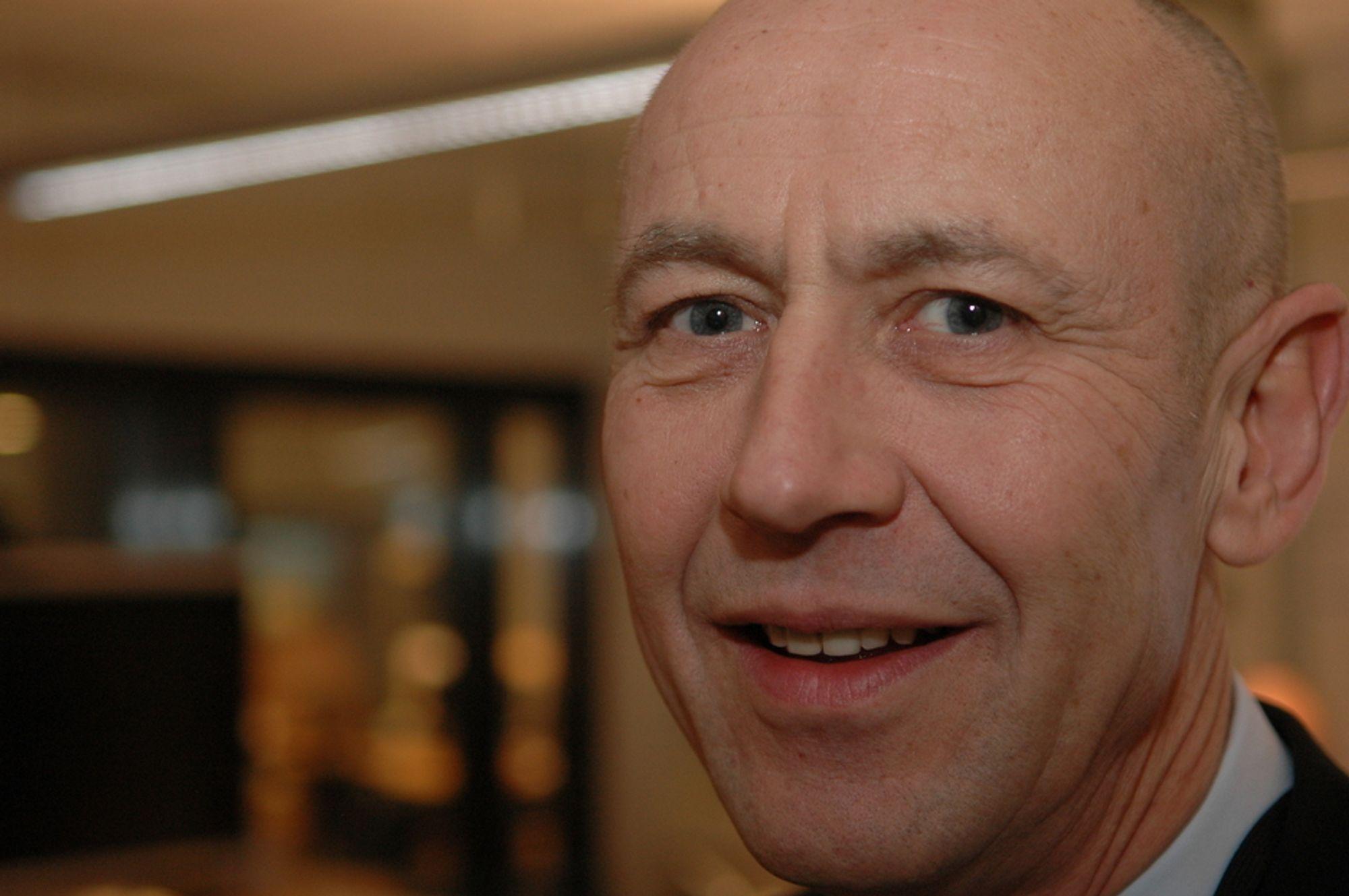 OPTIMIST: Konserndirektør Rune Bjørnson i Statoil imøtegår de fleste gasspessimistene, og ser bare vekst og økende priser for norsk gass i årene fremover.