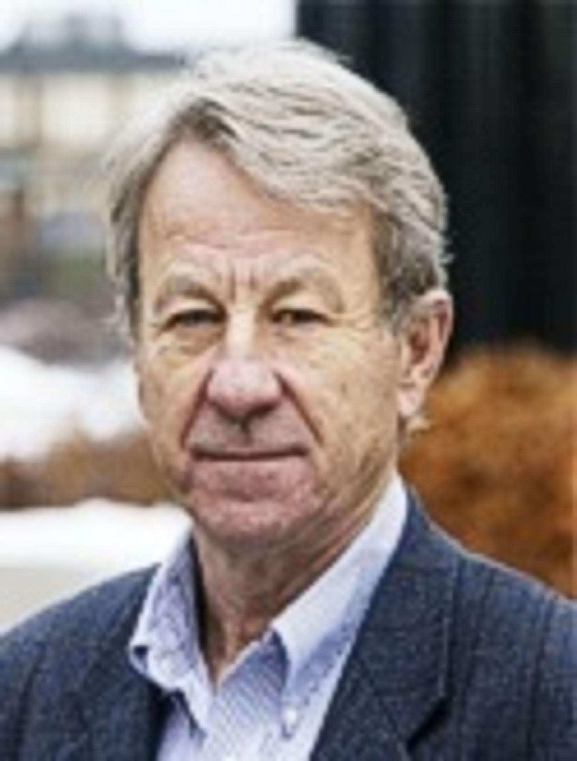 Knut Bjørlykke, professor i geologi ved Universitetet i Oslo