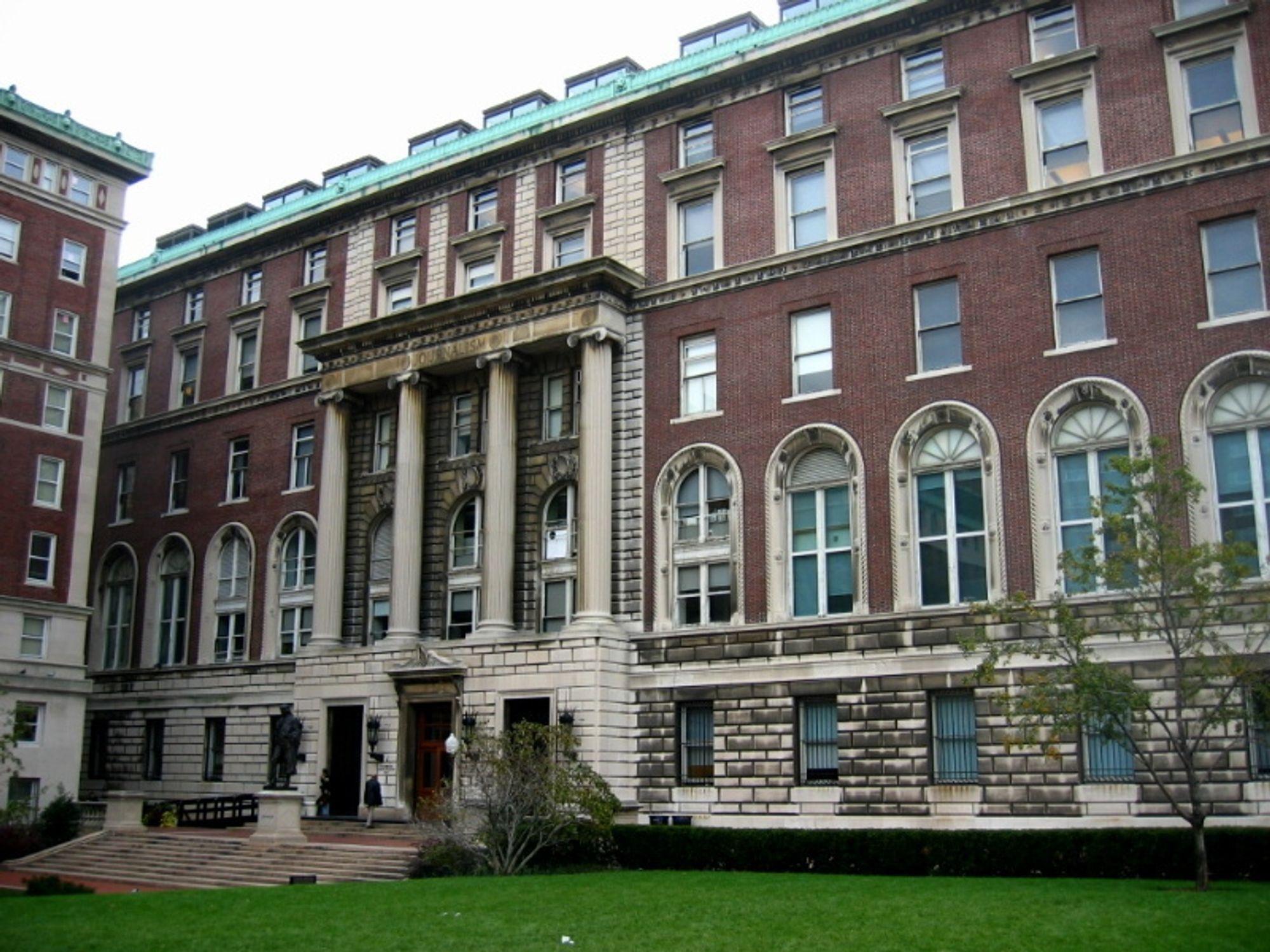 Journalistikkbygget ved Columbia University får neste høst studenter som kombinerer ingeniør- og journalistikkstudier.