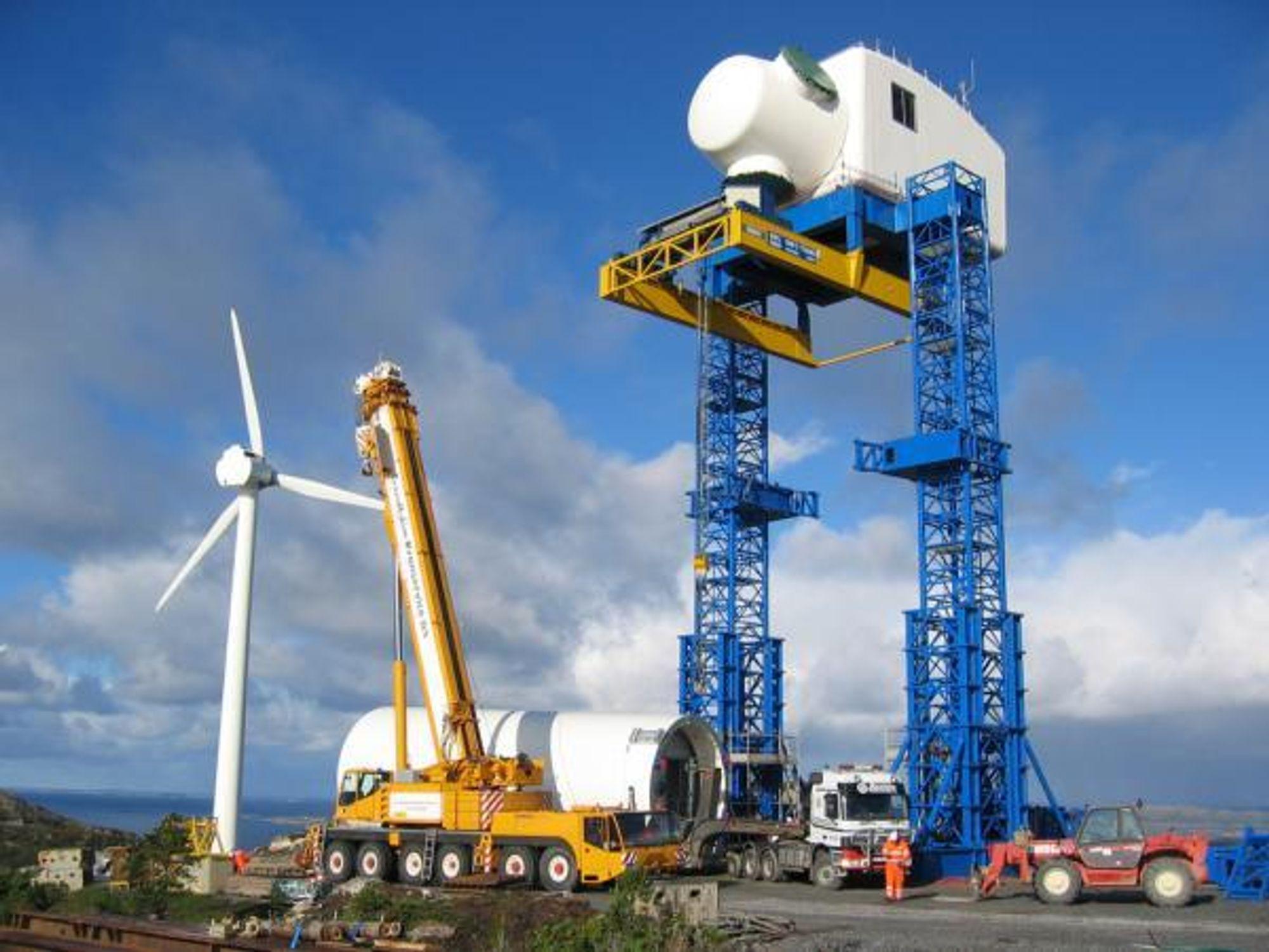 UT PÅ HAVET: Lyse, Statoil og GE skal samarbeide om å gjøre GEs direktedrevne vindmøller klare for havvind. Prosjektet kan gi muligheter for flere norske leverandørbedrifter til å bidra med ny teknologi.