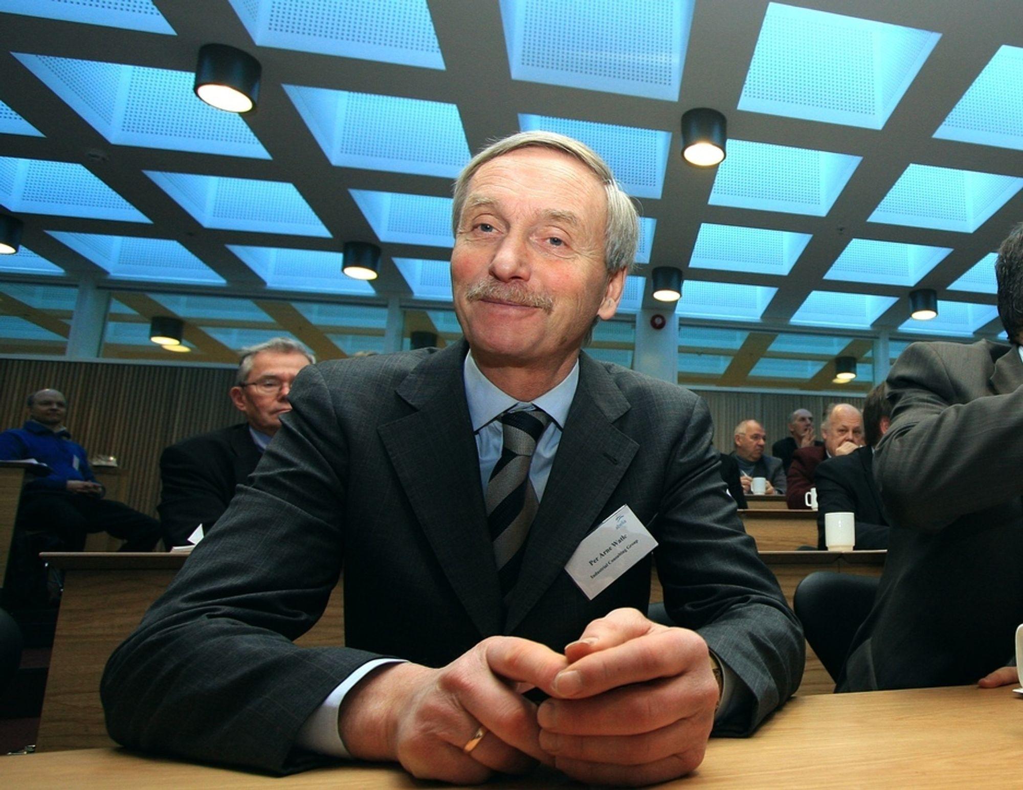 Styreleder Per Arne Watle i ICB skal diskutere med resten av representantene fra europeisk luftfart ulike bidrag de kan få til å komme seg gjennom den nye krisa.
