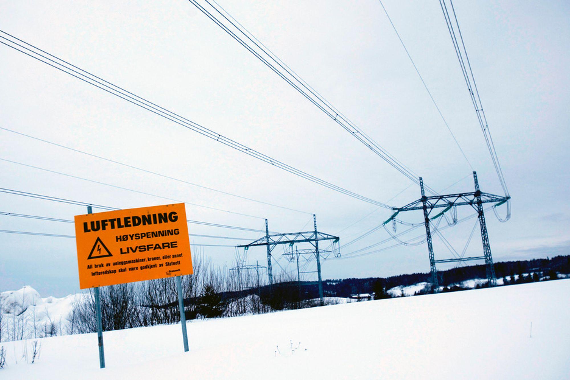 TAR TID: Det vil ta tid med nye overføringslinjer til Midt-Norge. I mellomtiden må innsatsen være på topp for energieffektivisering.
