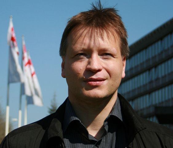 Seksjonssjef Arthur Gjengstø ved beredskapsseksjonen hos NVE.