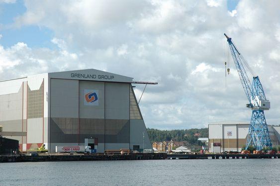 Dette verftet i Tønsberg er Grenland Groups største fabrikasjonsanlegg. Det har kapasitet til å kunne skipe ut moduler på opptil 10 000 tonn.