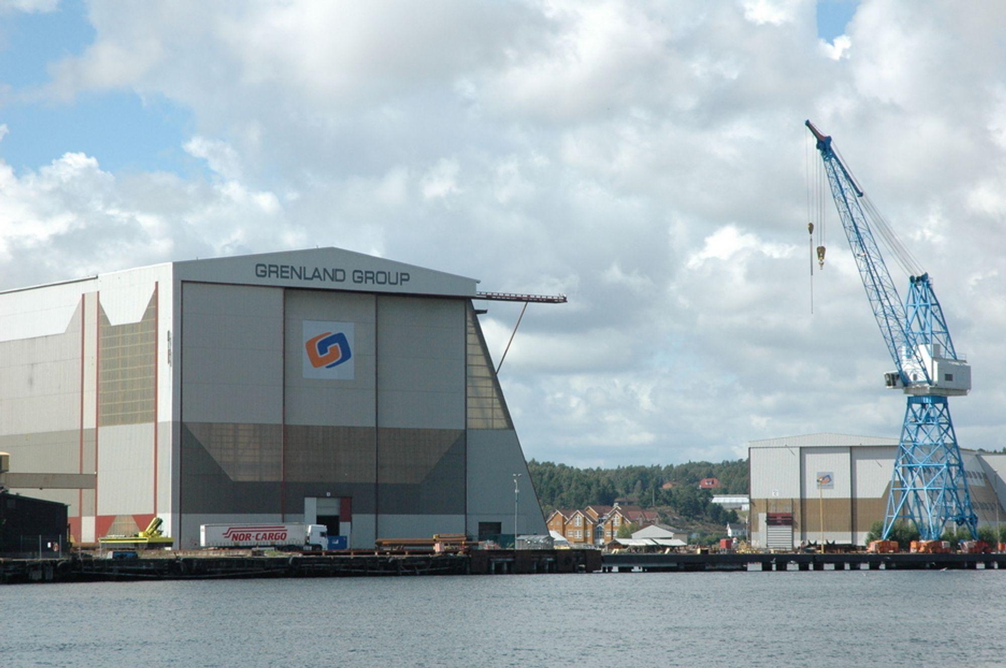 FULL BESKJEFTIGELSE: Verkstedet Grenland Group Tønsberg har fått nok å gjøre i og med at FMC Kongsberg Subsea har fått mange nye kontrakter.