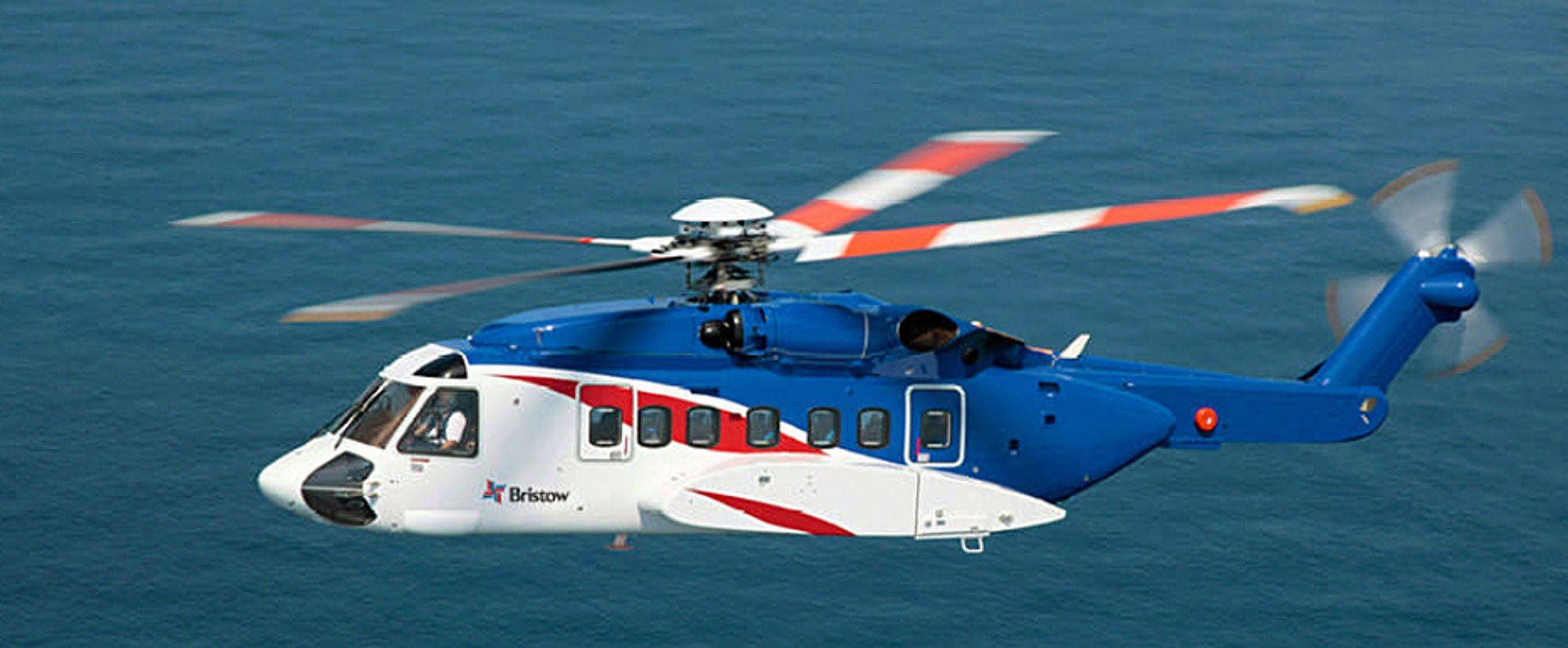 Tre nye Sikorsky S-92A skal Bristow fly for Statoil fra Flesland.