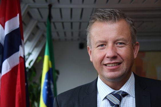Per Risvik Syversen, direktør i Kongsberg Esco MPV. Har laget en ventil til FPSO-er og flytende borerigger som skal kunne skiftes mens det er full gjennomstrømning i røret.
