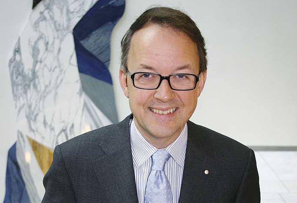 Oluf Ulseth er ny administrerende direktør i Energi Norge.