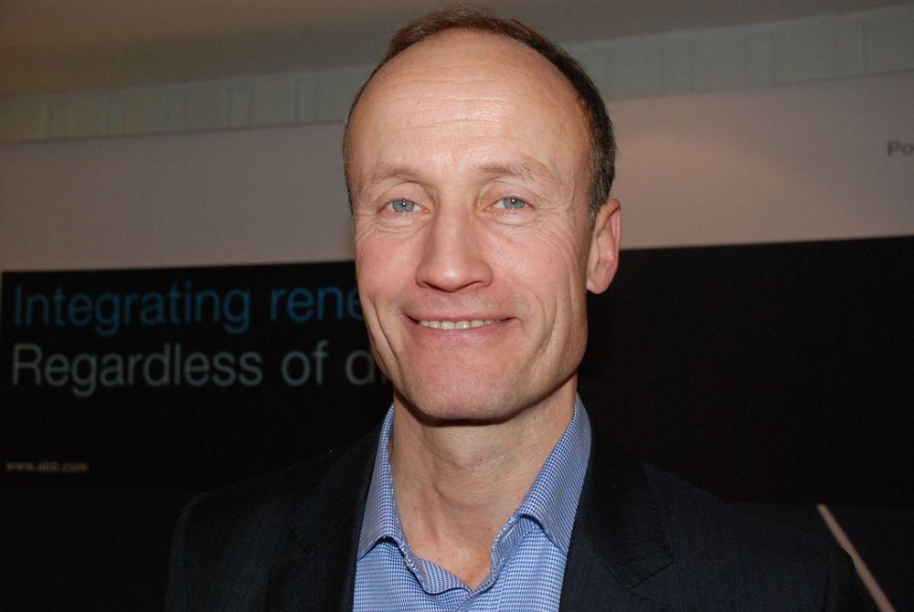 TEKNOLOGISTØTTE: Enova har god nok kompetanse til å støtte teknologiutvikling, sier Enova-sjef Nils Kristian Nakstad.
