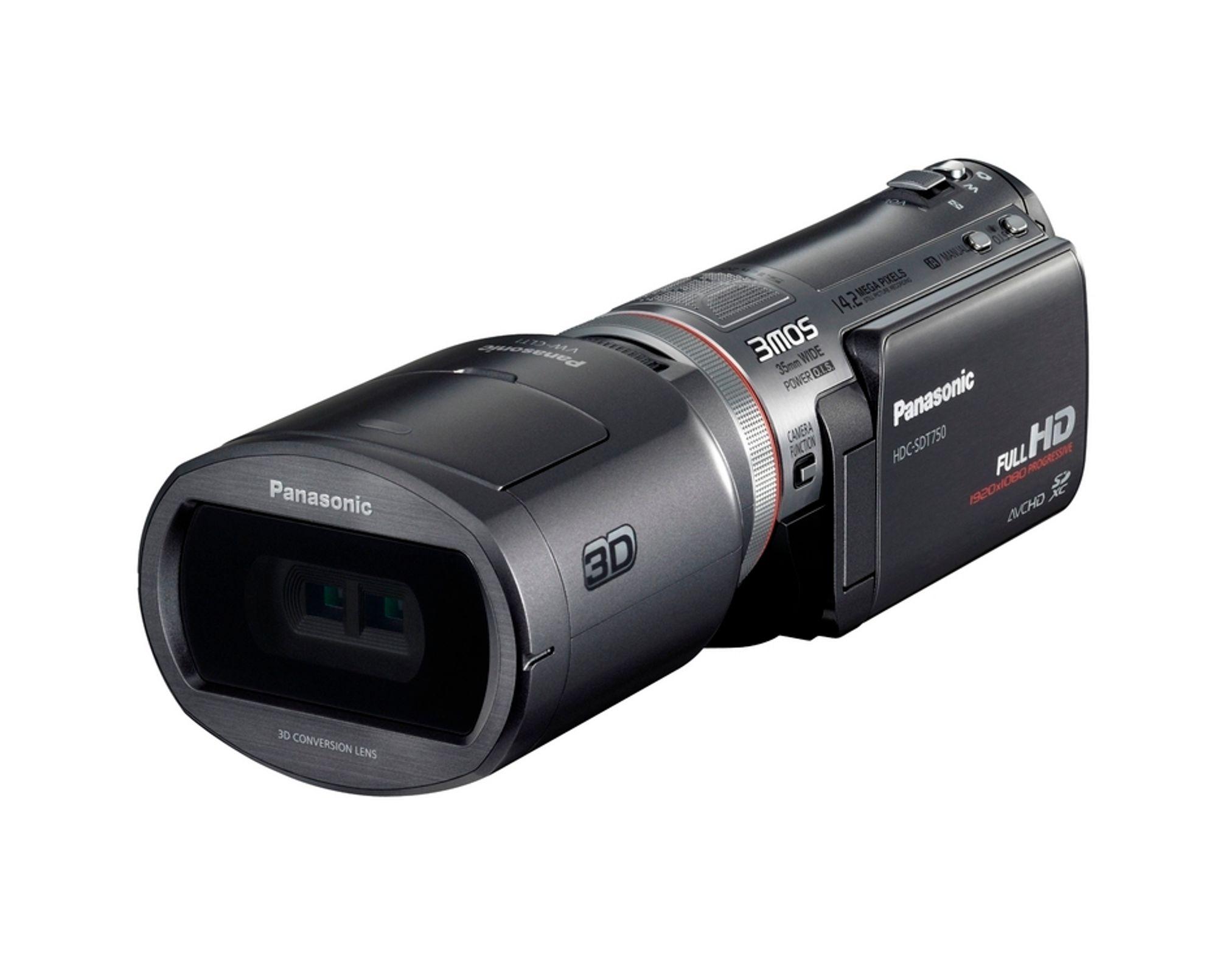 Panasonics nye 3D-kamera kommer i oktober.