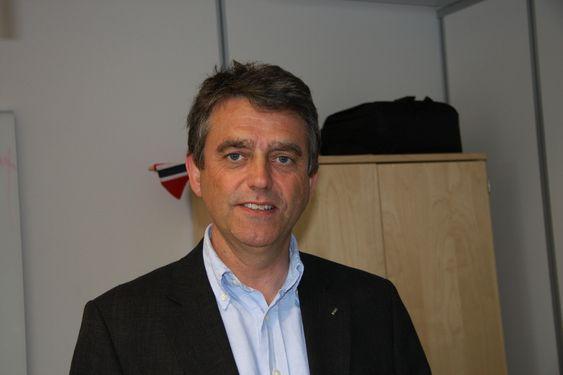 SPARER ENERGI: Salgs- og markedssjef Paul Arne Skjold hos YIT har stor tro på brukerpanelet fra Function.