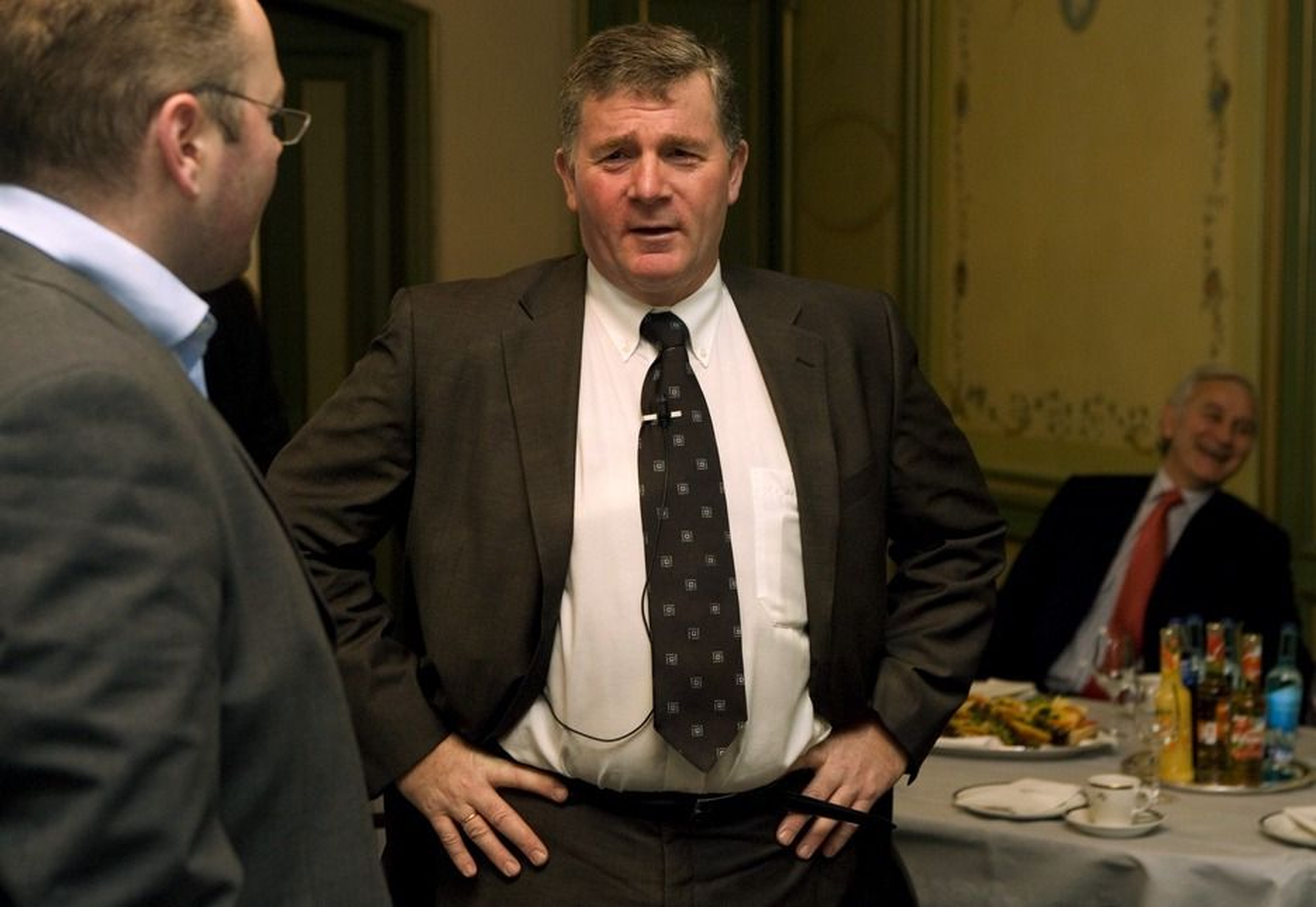 Wintershall-direktør Harald Vabø har grunn til å være fornøyd med funnet på Maria-prospektet.