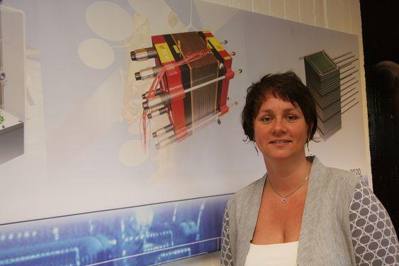 SJEFEN: Marian N. Melle har vært ansatt i Prototech siden starten og har vært toppsjef siden 2006.
