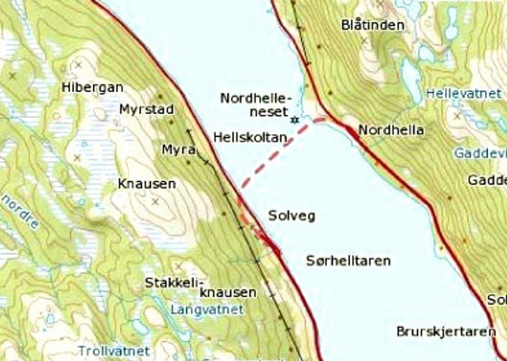 Leonhard Nilsen & Sønner ligger godt an til å få kontrakten på oppgradering av Kvalsundtunnelen i Troms.