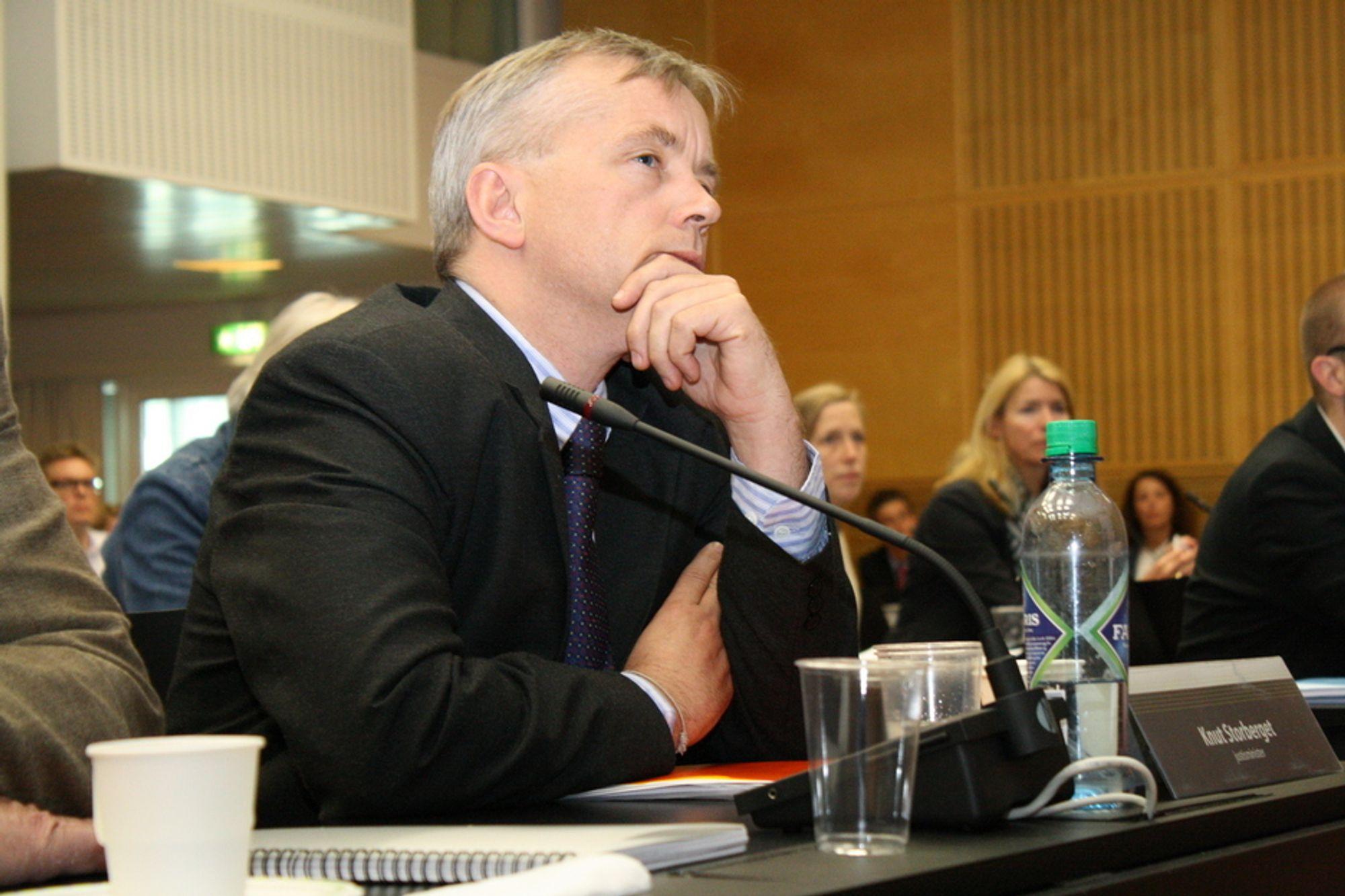 ER PÅ GLI: Justisminister Knut Storberget presses kraftig av Kripos, PST og Politidirektoratet for å gjøre Datalagringsdirektivets trafikkdata lettere tilgjengelig for politiet.
