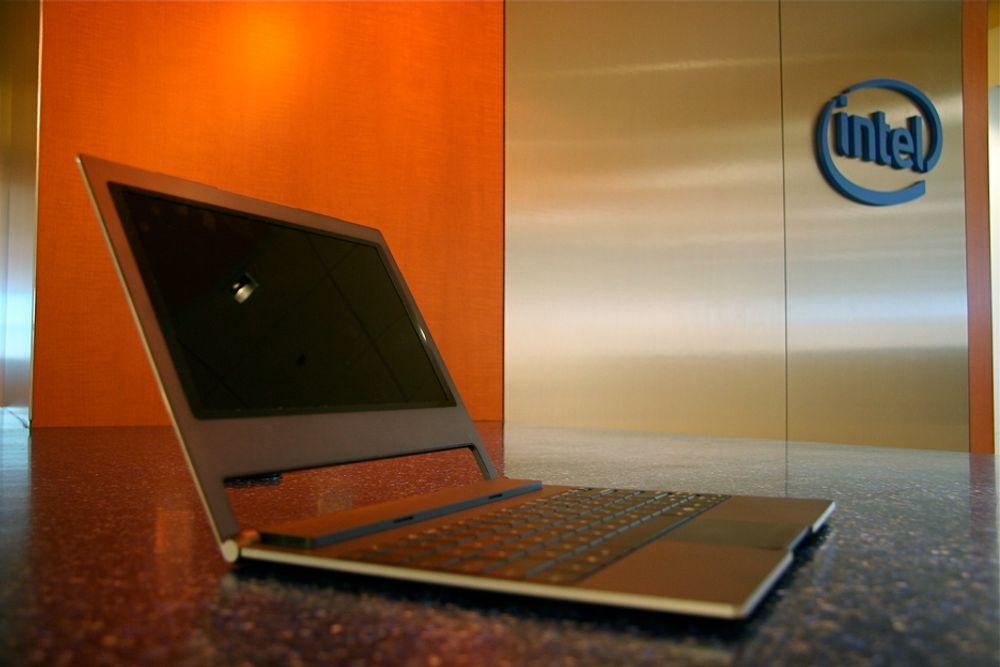TYNT: Intels nye Canoe Lake-plattform er halvparten så tykk som dagens netbooks.