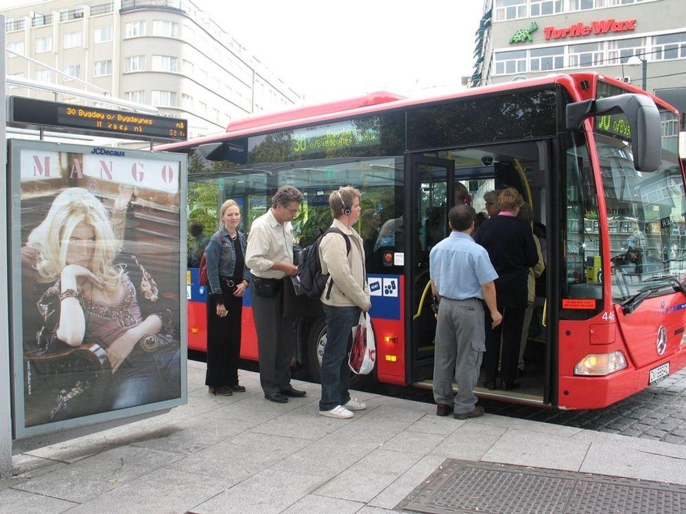 BUSS BEST: Buss har det beste energiregnskapet ifølge en rapport fra Vestlandsforskning.