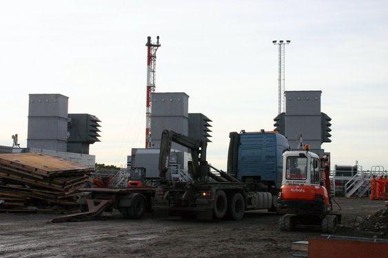 GASSKRAFT: De mobile gasskraftverkene på Tjeldbergodden skal kun settes i gang dersom det oppstår svært anstrengte kraftsituasjoner med fare for rasjonering.