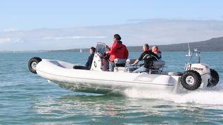 BILDESERIE: Båt med sjøbein