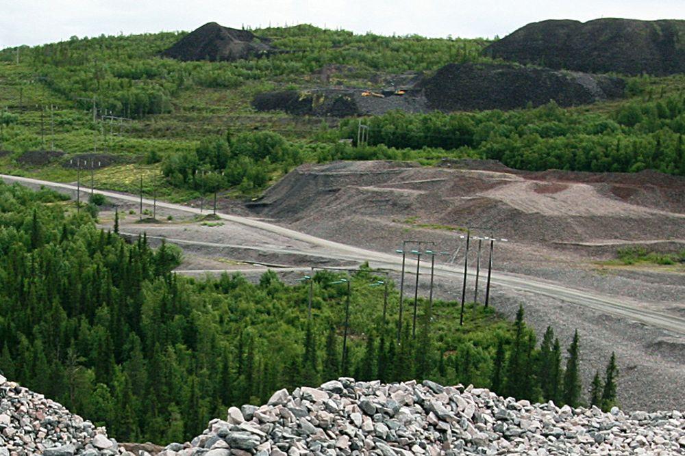To personer omkom under arbeid i gruven i Malmberget i dag.