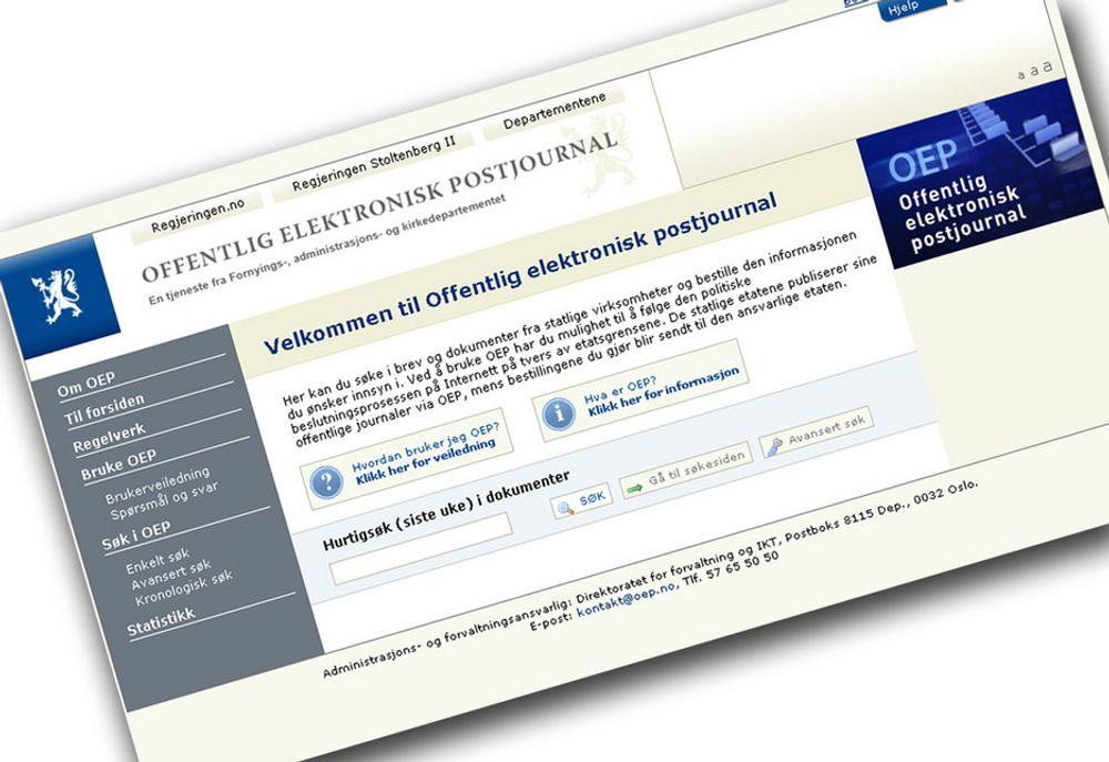 PÅGANG: Ett år etter at statens elektroniske postjournal ble åpen for alle, har den hatt stor pågang av krav om innsyn i offentlige dokumenter.