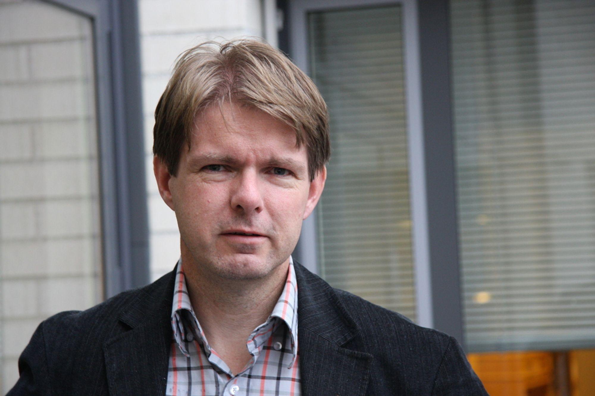 BEDRE ENN SITT RYKTE: Forskningssjef Terje F. Rønning i Norcem mener betong er bedre enn sitt rykte når det gjelder miljø og CO2-utslipp, men de gode verdiene blir først synlig i et livsløpsperspektiv.