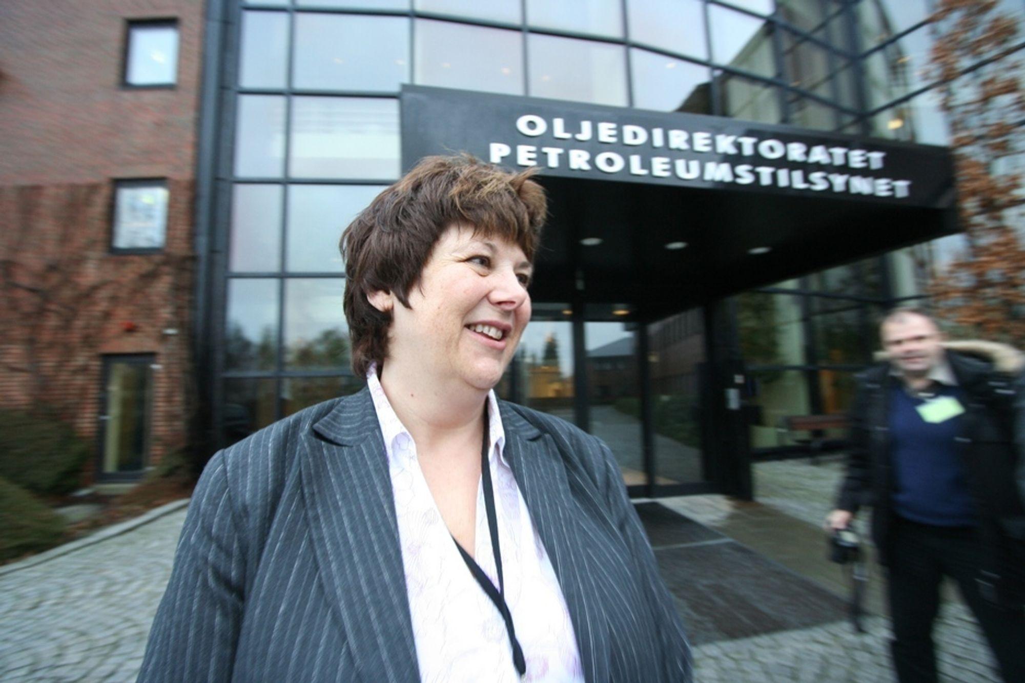 SPENT: Oljedirektør Bente Nyland venter med spenning på Shells boringer i Norskehavet.