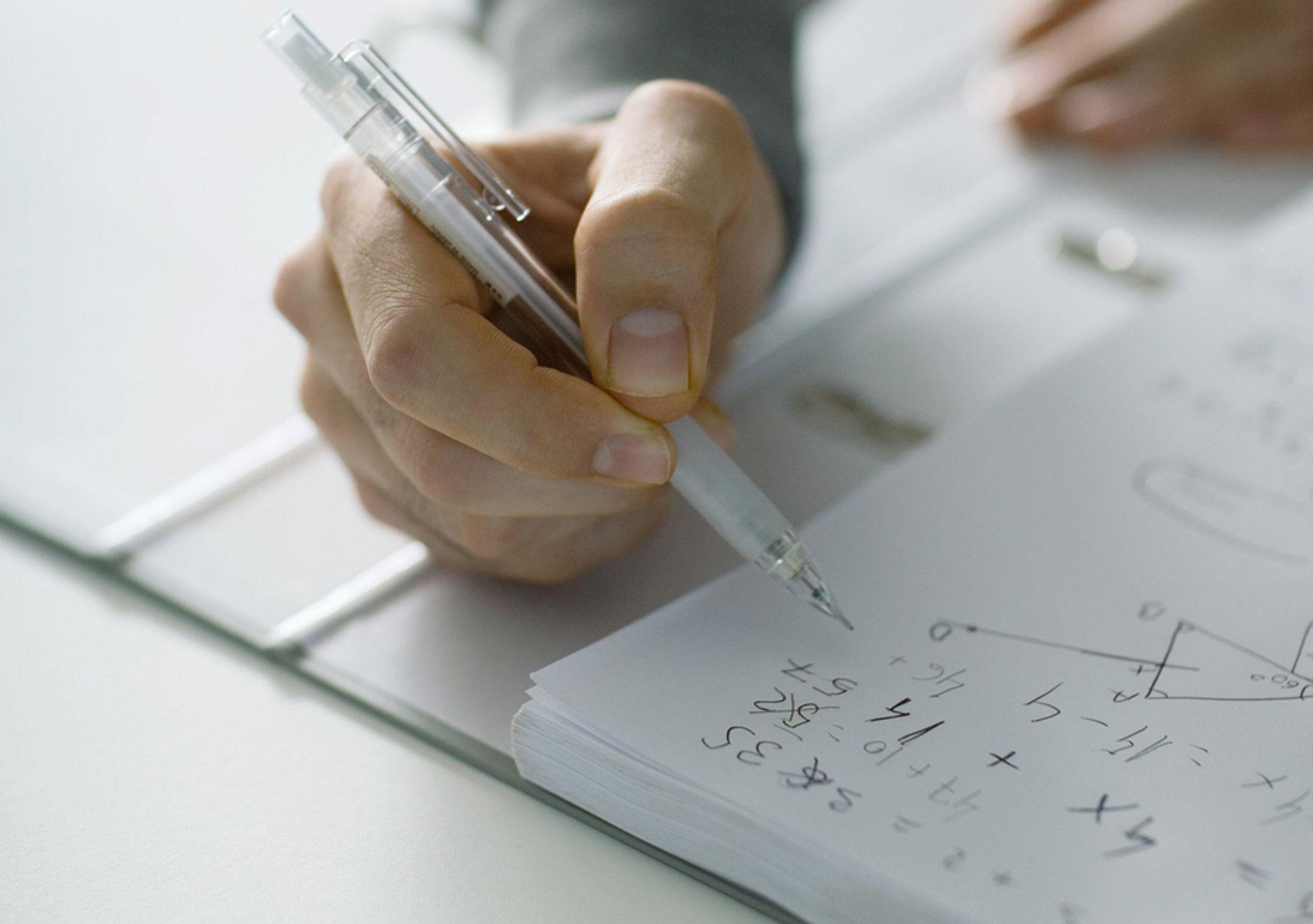 LETT? Synes du ukens mattenøtt er enkel? Prøv deg på en av de mange utfordringene på www.tu.no/matte. Matte, mattenøtt, matematikk, regning, studier, utrengning