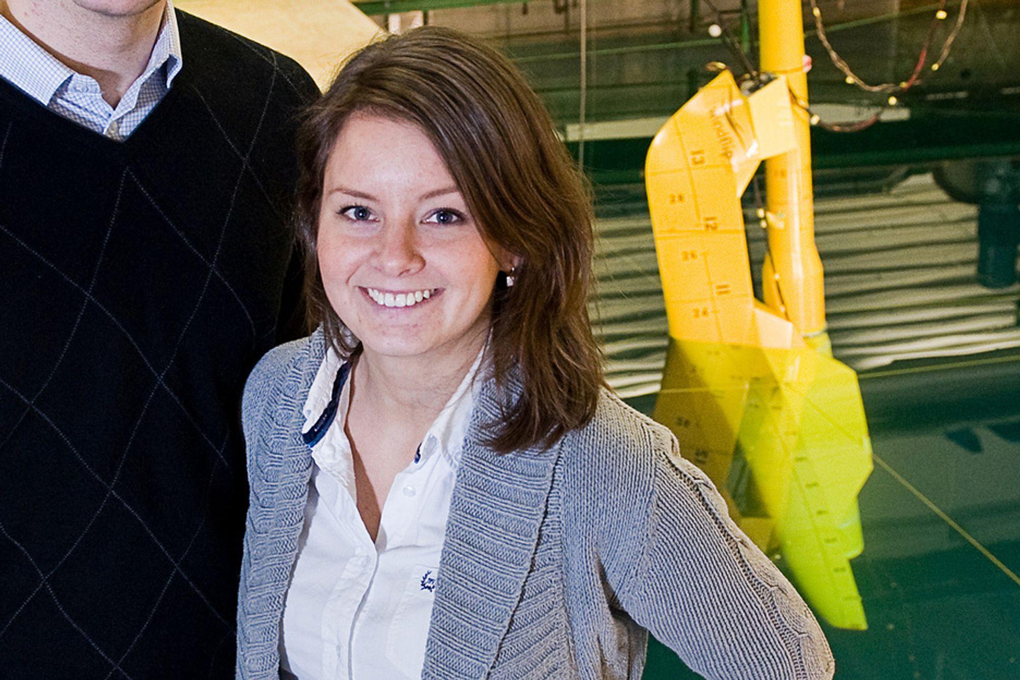 Windflip-gründer Ane Christophersen er kåret til årets djerveste kvinnelige gründer i 2010.