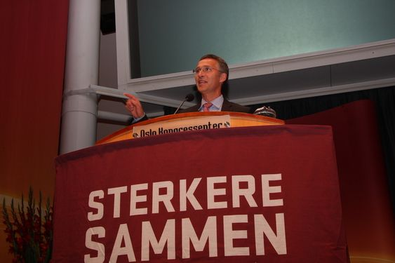 Jens Stoltenberg på Industri Energis landsmøte 2010