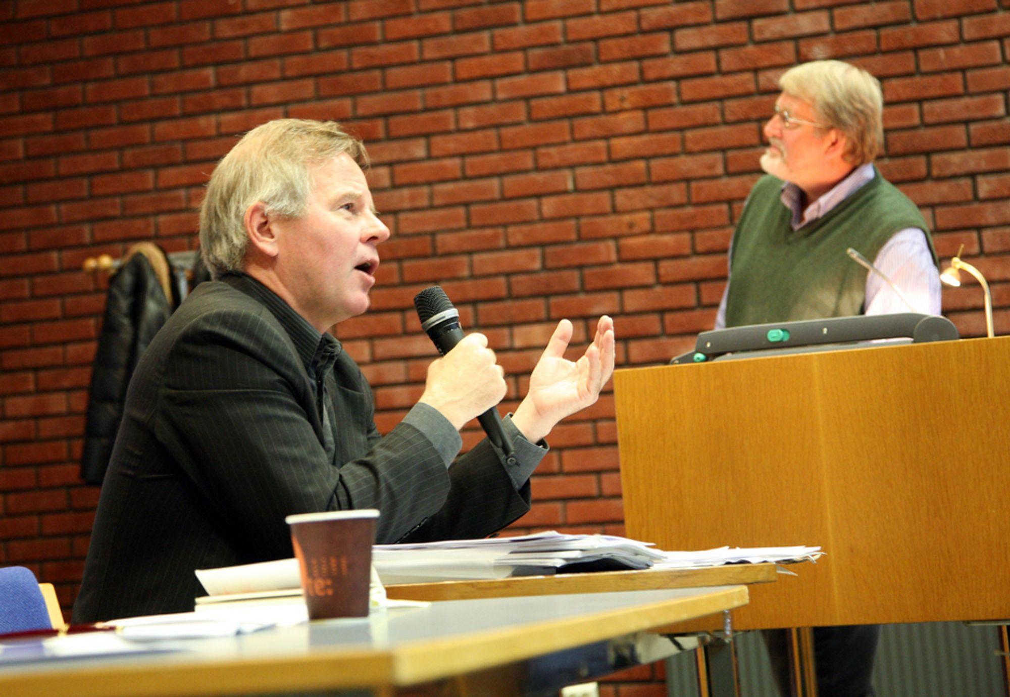 NYTT: Ole Petter Ottersen, rektor ved Universitetet i Oslo og Bernt Hagtvedt, professor i statsvitenskap ved samme institusjon, er kritiske til Times-rankingen.
